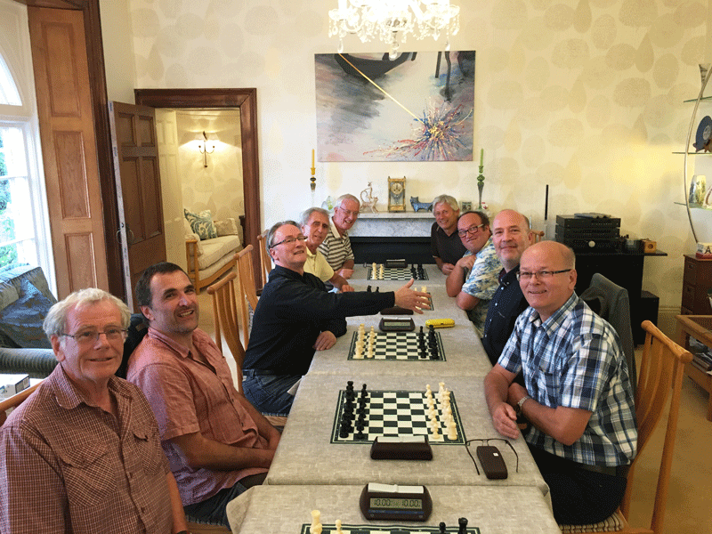 South Hams Chess Club at Dartmouth