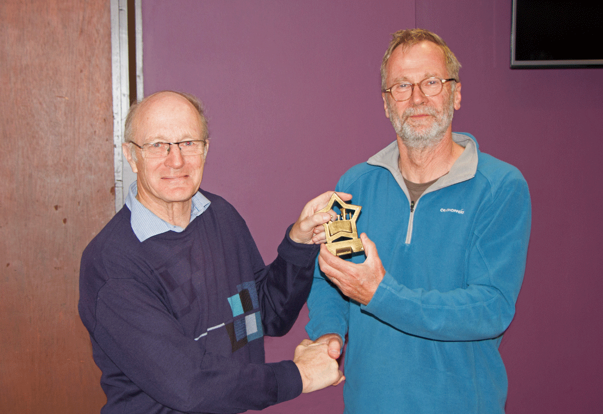 Trefor Thynne was Division 1 player of the season