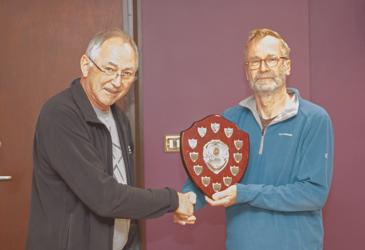 South Hams won the Division 4 title.  Alan Davies received the trophy on behalf of team captain John Belli.